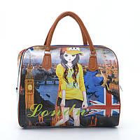 Очень стильная и красивая дорожная сумка. Сумка для женщин. Отличное качество. Купить в интернете. Код: КДН450