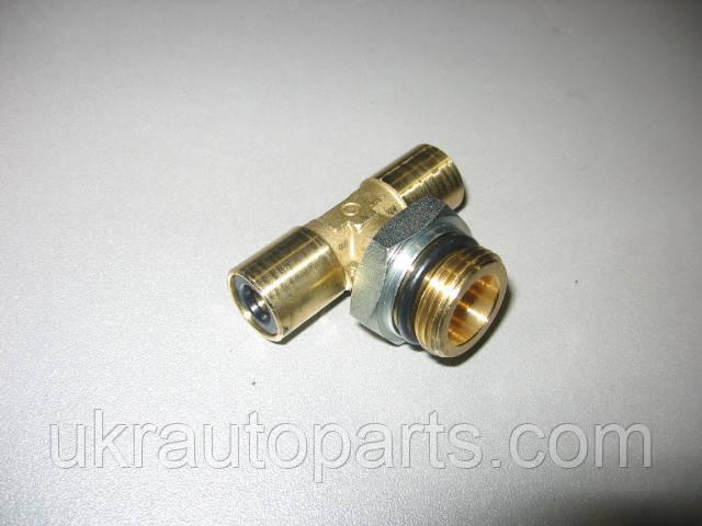 Фитинг тормозной системы тройной S9412 8-М22 (Camozzi) (S9412)