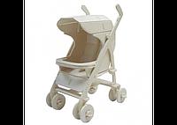 3D пазл коляска (2 маленькие доски), фото 1