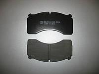 Колодка тормозная WVA 29124 Meritor DX195 (4 штуки) (950724)