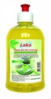 Рідина для миття посуду Лако 0, 5л. лимон