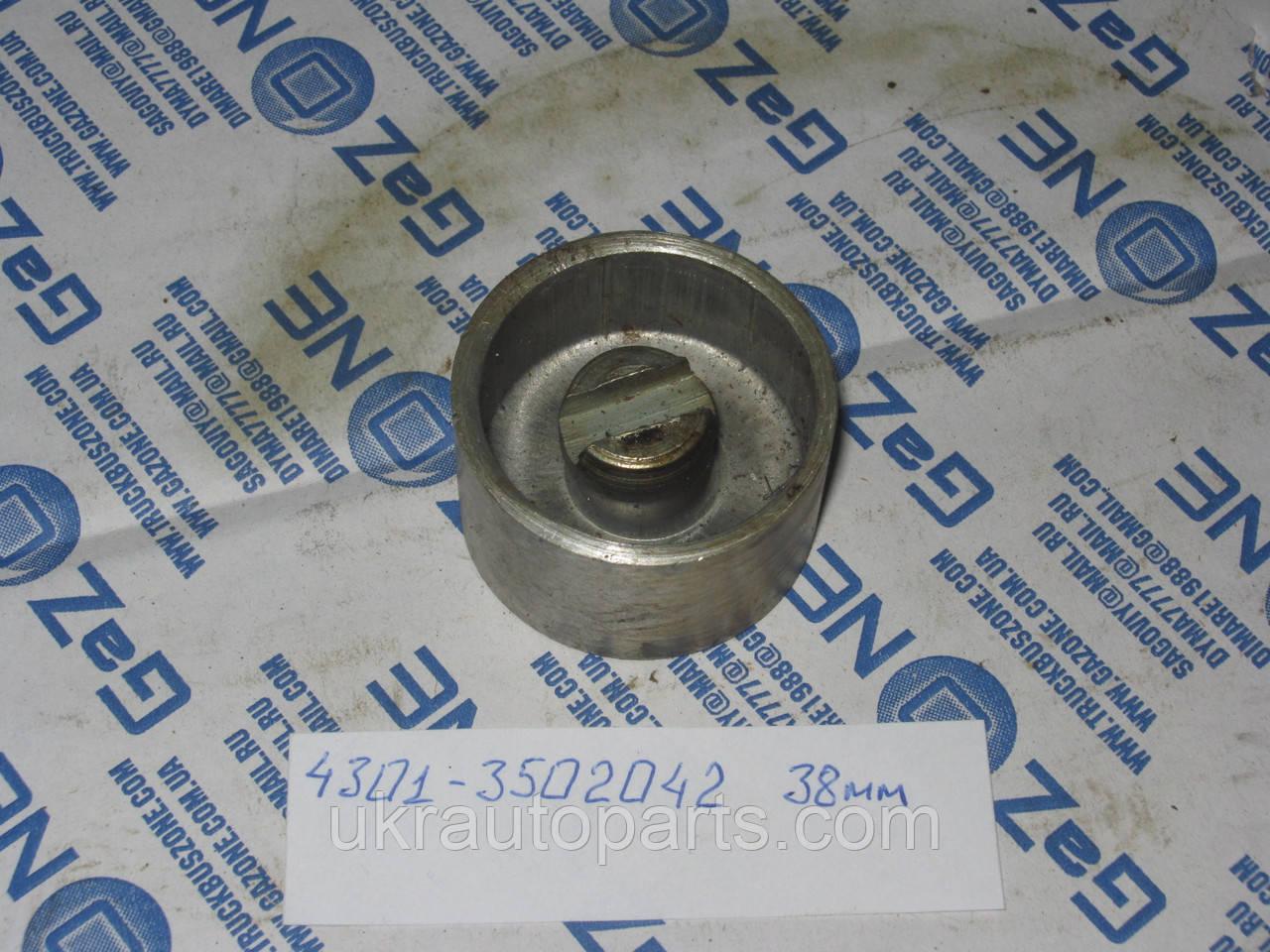 Поршень цилиндра рабочего тормозного заднего ГАЗ 3307 53 4301 (38мм) (4301-3502042)