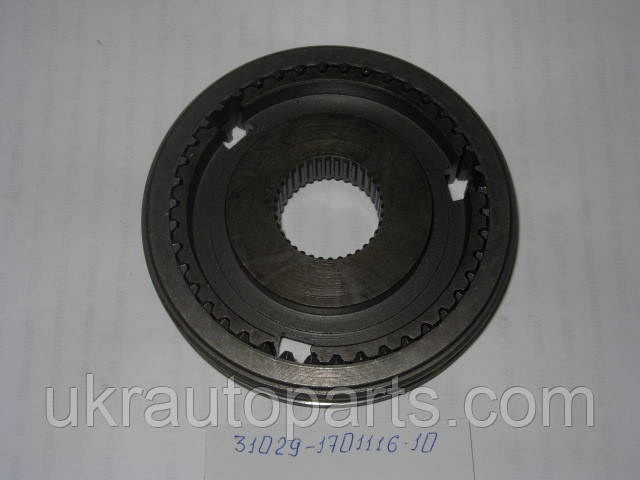 Муфта синхронизатора 3-4 пер. со ступицей ГАЗ 3302 (31029-1701116-10)