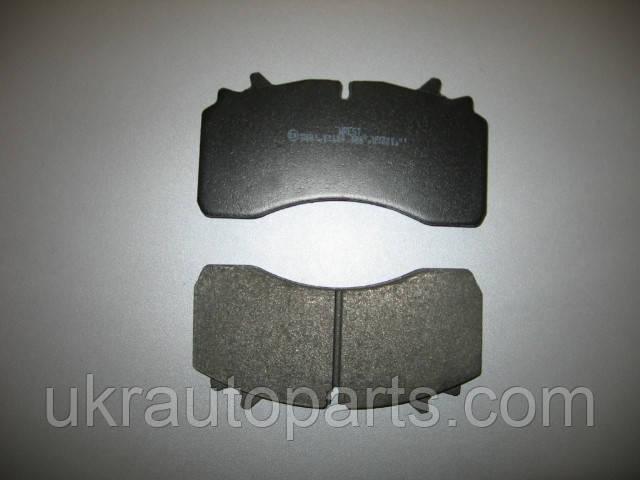 Колодка тормозная WVA 29162 SAF (950704)