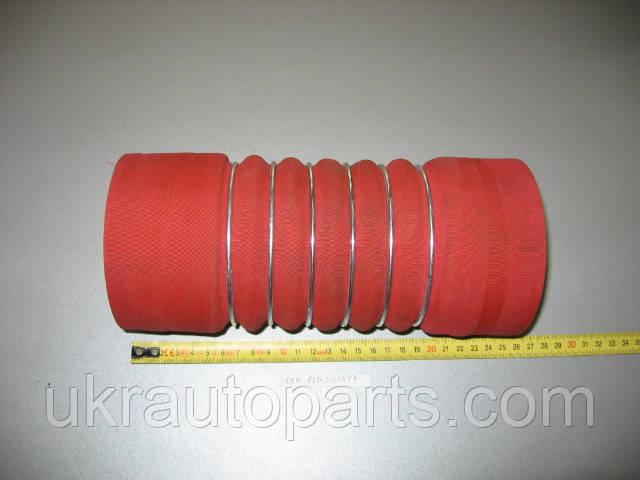 Патрубок интеркулера MAN 19.422, F90 F2000 100х240 (Турция) (81963010587)