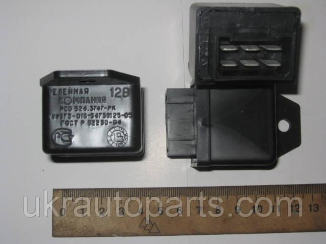Реле стеклоочистителя ГАЗ 3302 (6конт.) (РСО524-3747)