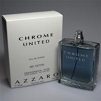 Тестер-Туалетная вода Chrome Azzaro United  edt (M) - Tester 100 мл