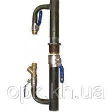 Байпас для систем отопления 330 мм, Ø40 с краном длинный - ТОВ О.П.К. Компанi в Харькове