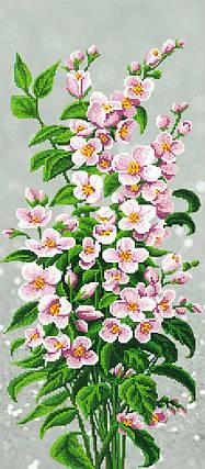 """Схема для вышивки бисером на подрамнике (холст) """"Розовый букет"""", фото 2"""