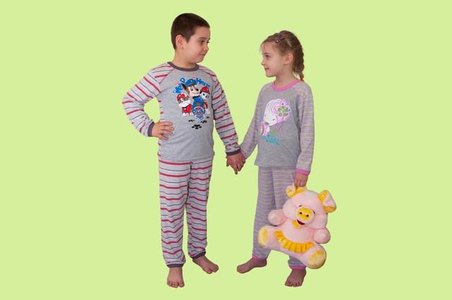 Детские и подростковые пижамы для мальчиков и девочек