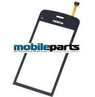 Оригинальный Сенсор (Тачскрин) для Nokia C5-03 | C5-06 (Черный)