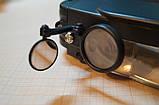 Бинокулярная лупа с подсветкой LED по бокам, фото 3
