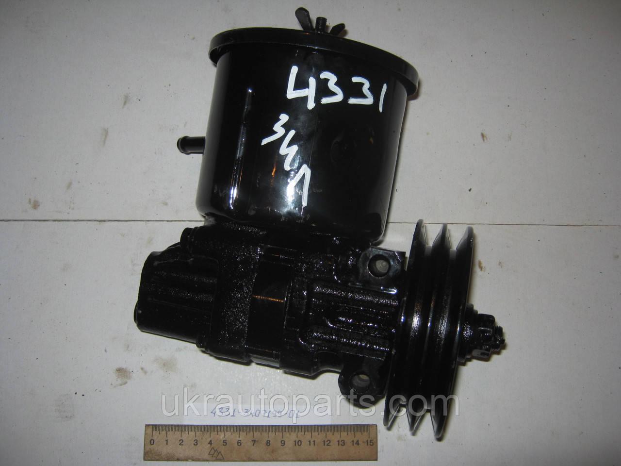Насос ГУР ЗІЛ 4331 Двиг. 645 з бачком шківом (Авторемонтний Автоагрегатний Завод) Refurbished (4331-3407199-01 (ААЗ))