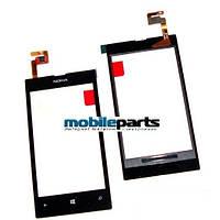 Оригинальный Сенсор (Тачскрин) для Nokia Lumia 520 (Черный)