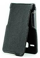 Чехол Status Flip для Alcatel One Touch PIXI 3 4009D Black Matte