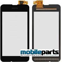 Оригинальный Сенсор (Тачскрин) для Nokia Lumia 530 (Черный)