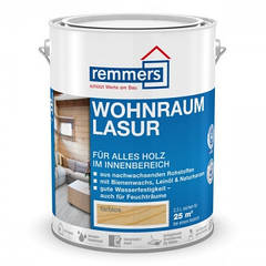 Застосовується для внутрішніх робіт на натуральній основі Wohnraum-Lasur (раніше dekor-wochs lasur)