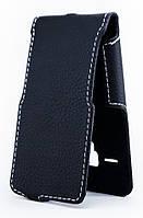 Чехол Status Flip для Alcatel One Touch PIXI 3 4013D Black Matte