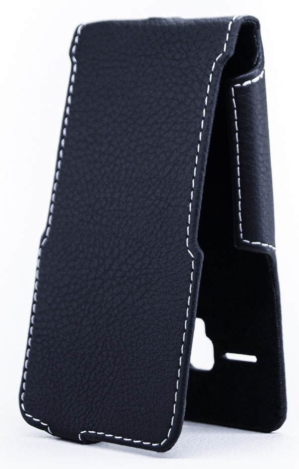 Чехол Status Flip для Alcatel One Touch PIXI 3 4027D Black Matte