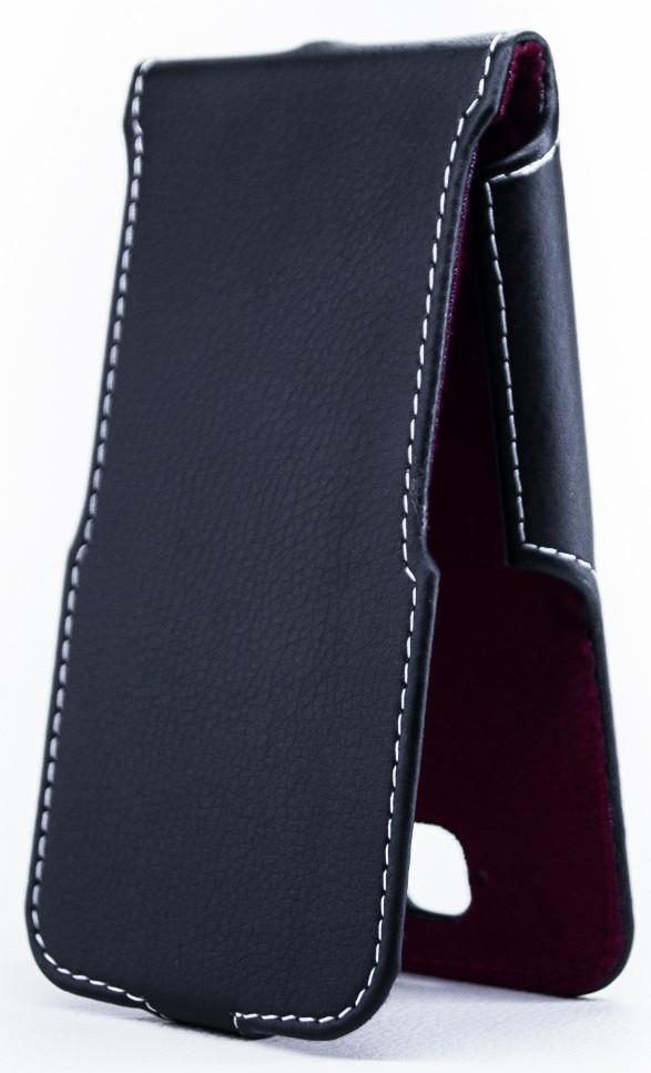 Чехол Status Flip для Alcatel One Touch POP C7 7041D Black Matte