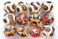 Мяч разноцветный с надписями