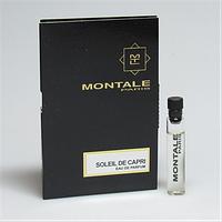 Пробник-Парфюмировання вода Montale Soleil De Capri  edp (U) Vial 2 мл