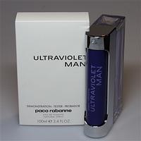Тестер-Туалетная вода Paco Rabanne - Ultraviolet Man  edt (M) -Tester 100 мл