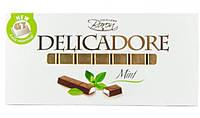 Молочный шоколад Baron Delicadore Mint с мятной начинкой, 200 г.