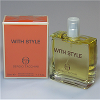 Туалетная вода Sergio Tacchini - With Style Men  edt (M) 30 мл