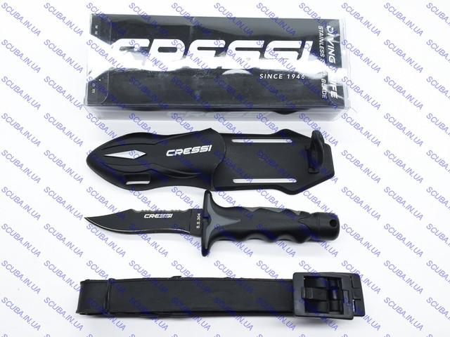 Нож Cressi sub PREDATOR подводный