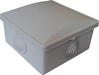 Коробки монтажные для наружной (открытой) установки 80х80х40мм IP54 с 4-мя гермовводами (кратно 20шт) 20шт/уп