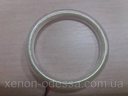 Светодиодные кольца Ангельские Глазки LED COB 75 мм /  Angel Eyes Ring LED COB 75 mm, фото 2