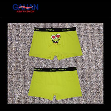 Мужские боксеры стрейчевые (без коробочки) марка «GAHAN» АРТ.GH-1207, фото 2