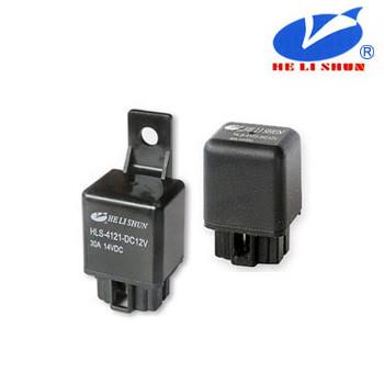 HLS-4121  РЕЛЕ  (12VDC) струм-30A / контакти-1С