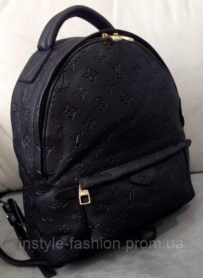 Рюкзак луи витон рюкзак Louis Vuitton черный большой
