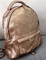 Рюкзак луи витон рюкзак Louis Vuitton золотой большой