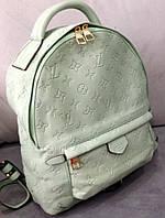 Рюкзак луи витон рюкзак Louis Vuitton мятный большой