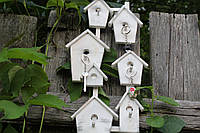 Ключница настенная Белые домики в Провансе, фото 1