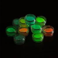 Светящиеся, декоративные камни,  набор 12шт