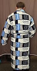 Махровый мужской халат, фото 3