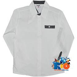 """Детская рубашка с длинным рукавом """"Waxmen"""" , для мальчиков (рост 122-128-134-140 см)"""