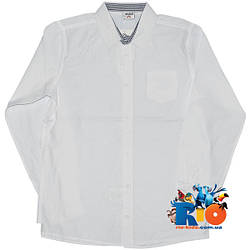 """Детская рубашка с длинным рукавом """"Waxmen"""" , для мальчиков (рост 140-152-164-176 см)"""
