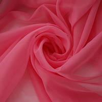 Тюль нежно-розовая Вуаль, однотонная + высококачественный пошив