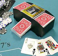 Смешиватель игральных карт машинка тасовальщик кард шафлер