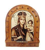 """Икона ручной работы """"Пресвятая Богородица"""""""