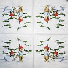 Декупажные салфетки Катаются в чашке 1507