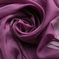 Тюль фиолетовая Вуаль, однотонная + высококачественный пошив