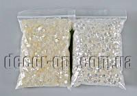 Пайетки жемчужные с тиснением 5мм/98±2гр