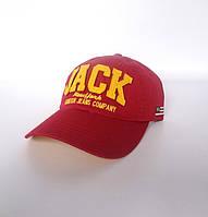 Красная бейсболка Jack - №1616