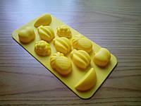 Форма силиконовая для конфет Фрукты